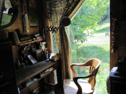 horse shed desk