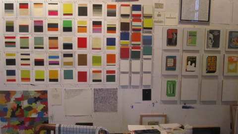 Richard-Baker-Studio-Wall